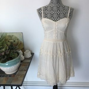 AE ivory lace dress